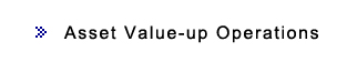 Asset Value-up Operations