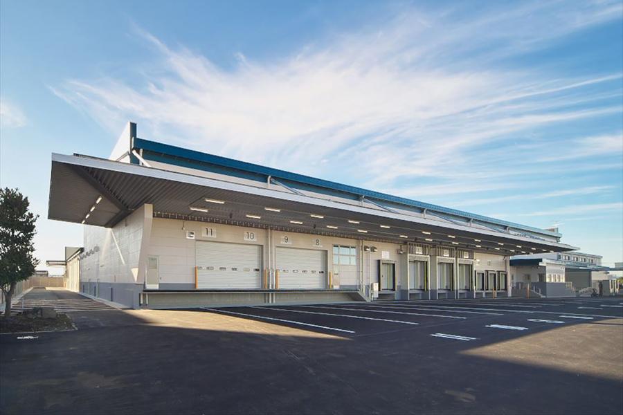 Nara Co-op Tawaramoto Logistics Center, refrigerated