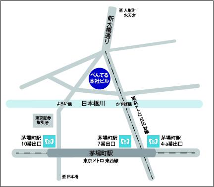 【map】新事務所(イラスト版)